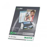 Leitz Pochettes de plastification ILAM 80 microns A3 100 pcs