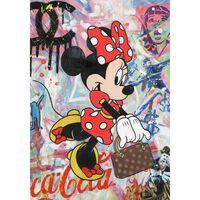 Peinture Sur Toile Minnie - Magic Mouse