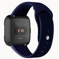 Bracelet Fitbit Versa caoutchouc - bleu - S
