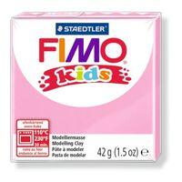 Pâte Fimo Kids 42 g Rose 8030.25 - Fimo