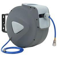 """vidaXL Enrouleur automatique de tuyau d'air 1/4"""" 30 m"""