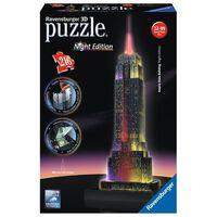Ravensburger Puzzle 3D Empire State Building illuminé