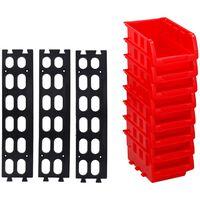 Kinzo - plateaux empilables - 8 pièces - avec un système de suspension