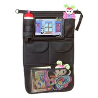 A3 Baby & Kids Organisateur de voiture avec support de tablette Noir