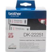 Etiquettes pour Imprimante Brother CCICIS0079 DK22251 15,24 m Bleu