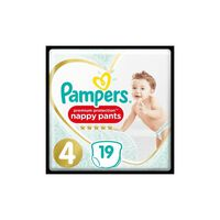 Pampers Premium Active Fit Pants Taille 4 8-14 kg - 19 Couches-Culotte