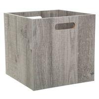 Boîte de rangement design bois Mix n' modul