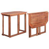vidaXL Table de bistro 90x50x75 cm Bois d'acacia massif