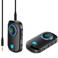 Émetteur mains libres Bluetooth AUX sans fil