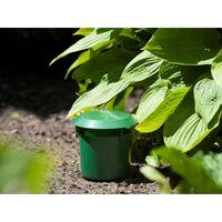 Nature Pièges à limaces 2 pcs 11x11,5 cm Vert
