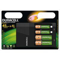 Duracell Chargeur de piles Hi-Speed 45 min CEF14